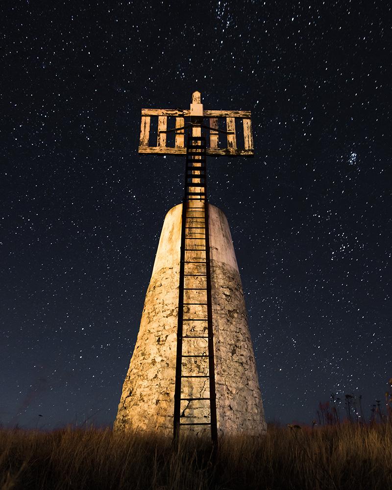 #11. Sjömärke under stjärnhimmel, fotograf Johan Blomqvist