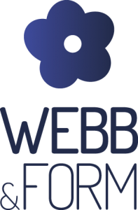 Logotyp Webb&Form