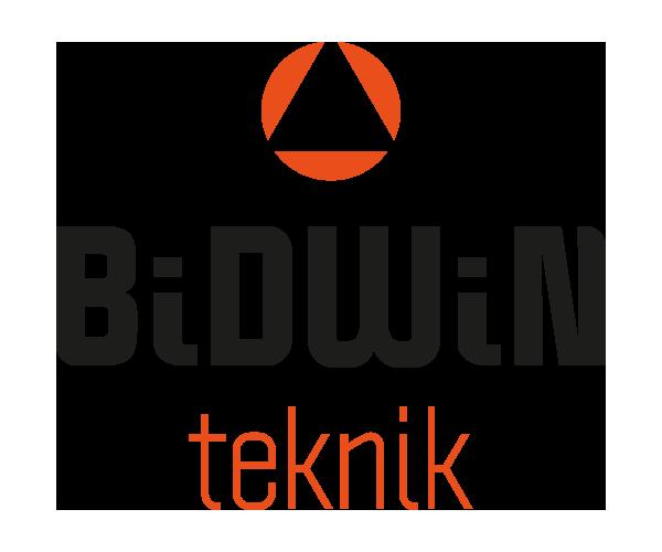 Logotyp BidWin Teknik - Portfolio Webb&Form