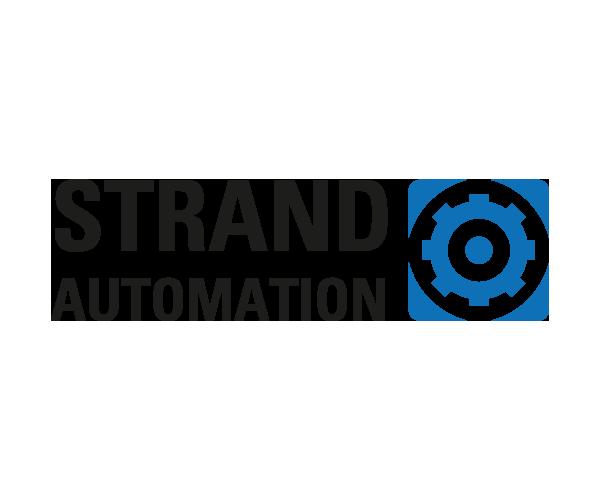 Logotyp Strand Automation - Portfolio Webb&Form