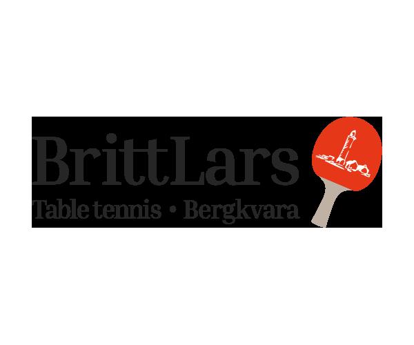 Logotyp BrittLars Table tennis - Portfolio Webb&Form