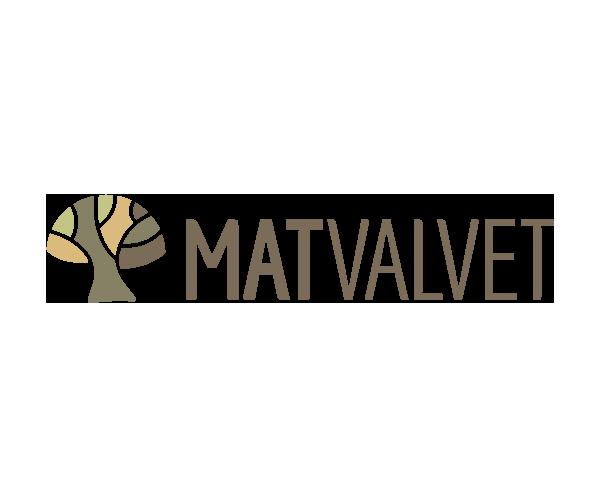 Logotyp Matvalvet - Portfolio Webb&Form